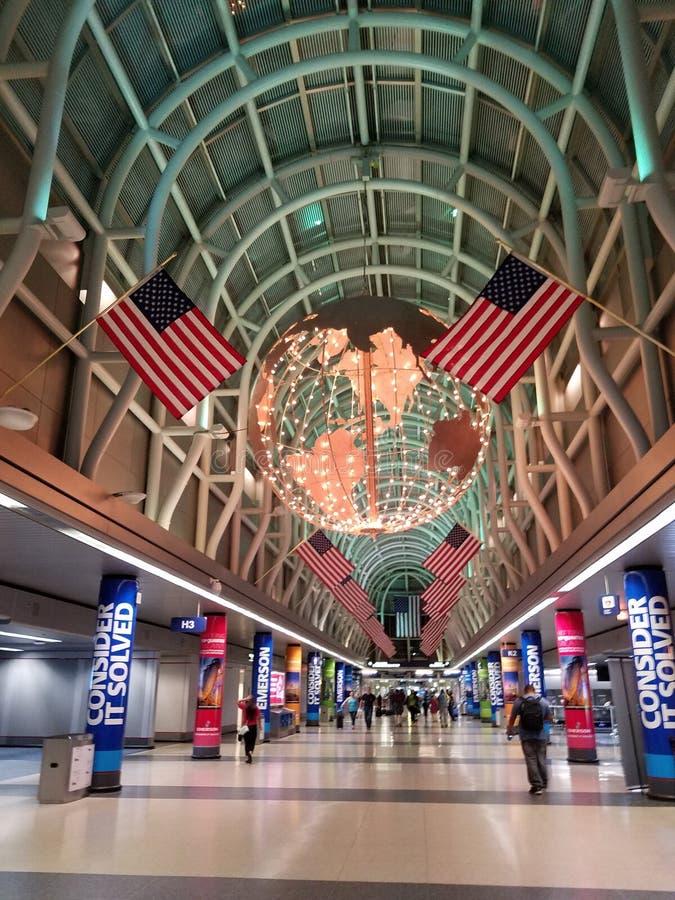 DC机场 库存照片