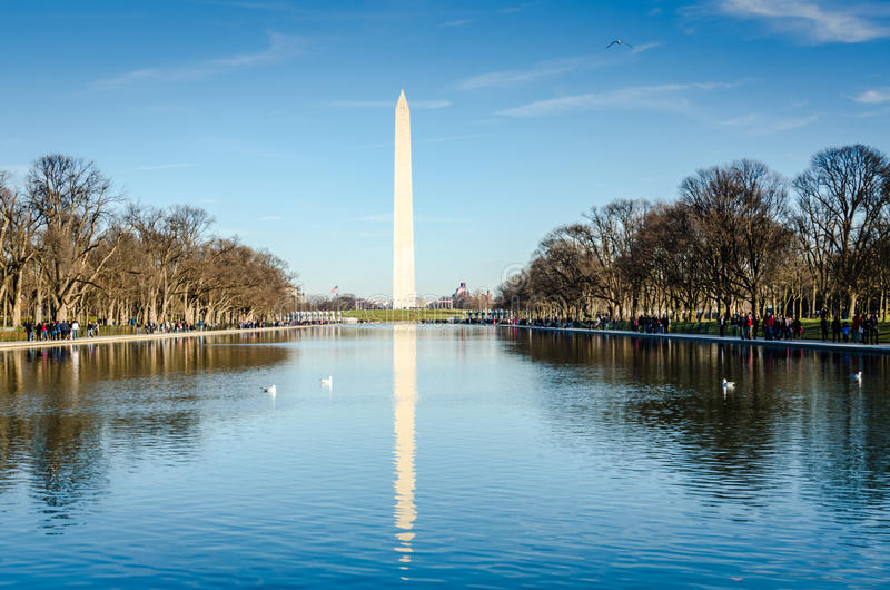 dc纪念碑华盛顿 库存照片