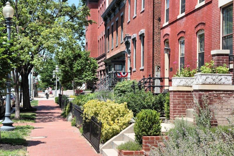 DC Вашингтона жилой стоковые изображения