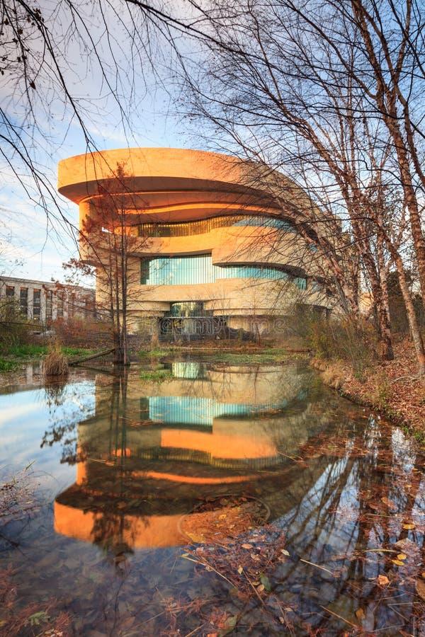 DC Вашингтона индейца Национального музея американский стоковое изображение