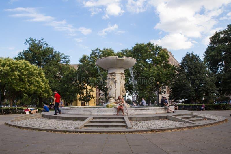 DC Вашингтона круга Du Pont стоковое фото