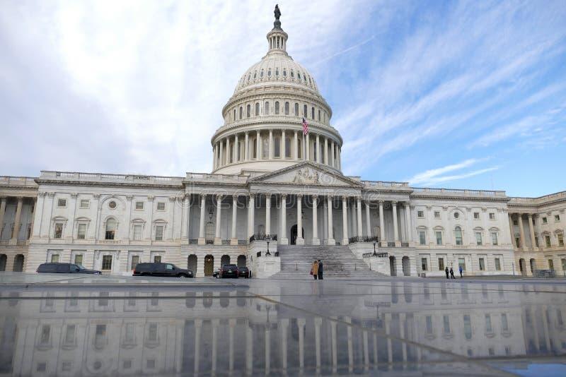DC Вашингтона, Соединенные Штаты 2-ое февраля 2017 - конгресс США b стоковые фотографии rf