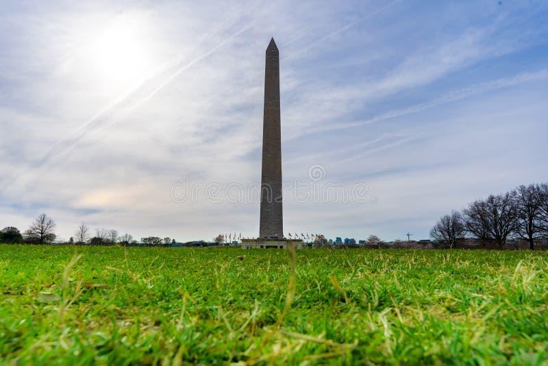 DC США памятника Вашингтона стоковые фотографии rf