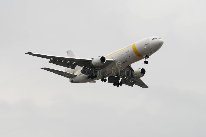 DC-10 pesante del jet del carico fotografia stock libera da diritti