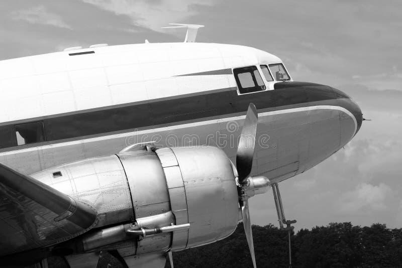 DC-3 Dakota imagenes de archivo