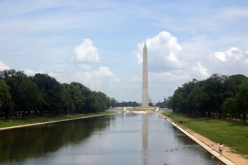 DC de Washington classique (le mail) patriotique photos stock