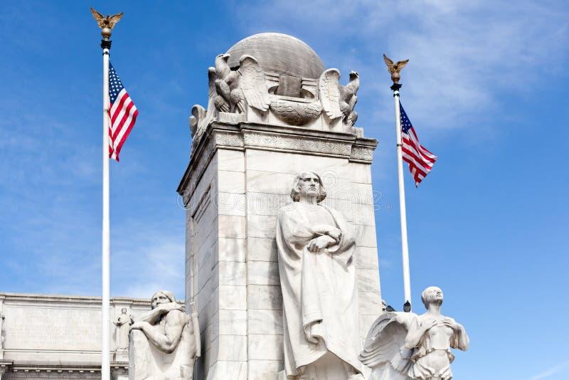 DC di Washington della stazione del sindacato della fontana di Columbus immagini stock libere da diritti