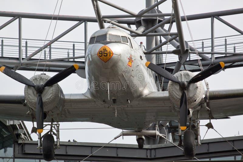 dc douglas 3 воздушных судн стоковая фотография rf