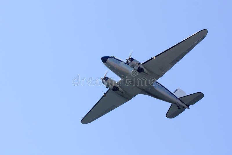 dc douglas 3 самолетов стоковое изображение