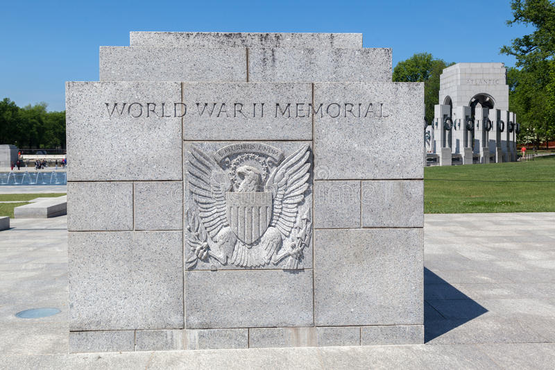 dc ii纪念品战争华盛顿世界 免版税库存照片