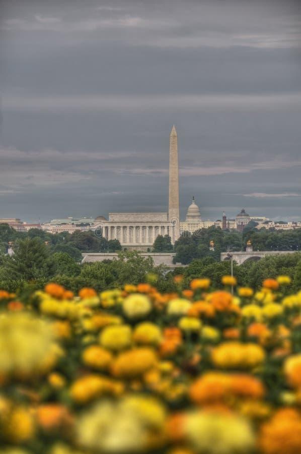 dc linia horyzontu Washington obraz royalty free