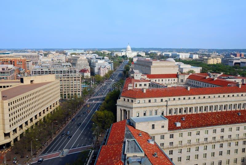 dc linia horyzontu Washington obrazy stock