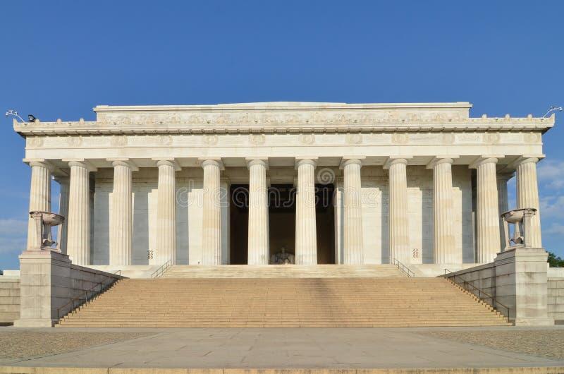 dc pomnik Lincoln usa Washington obrazy stock
