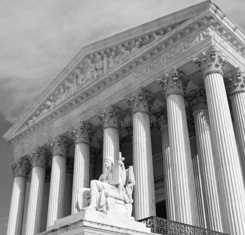 dc sądu najwyższego, united Washington fotografia stock