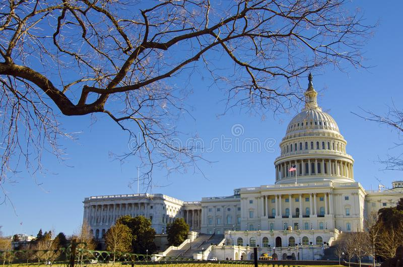 dc stany zjednoczoną kapitol Waszyngton zdjęcia royalty free