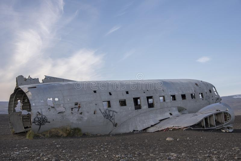 DC-3 US Marine, Island 3 stockbilder