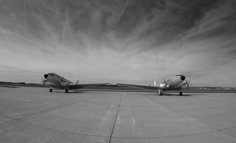 DC-3 stock photo