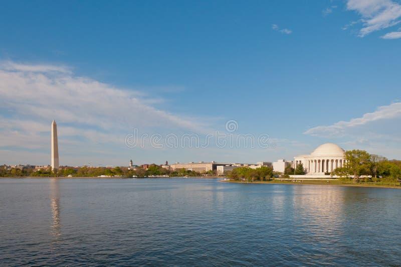 DC waszyngtońska Linia horyzontu obrazy stock