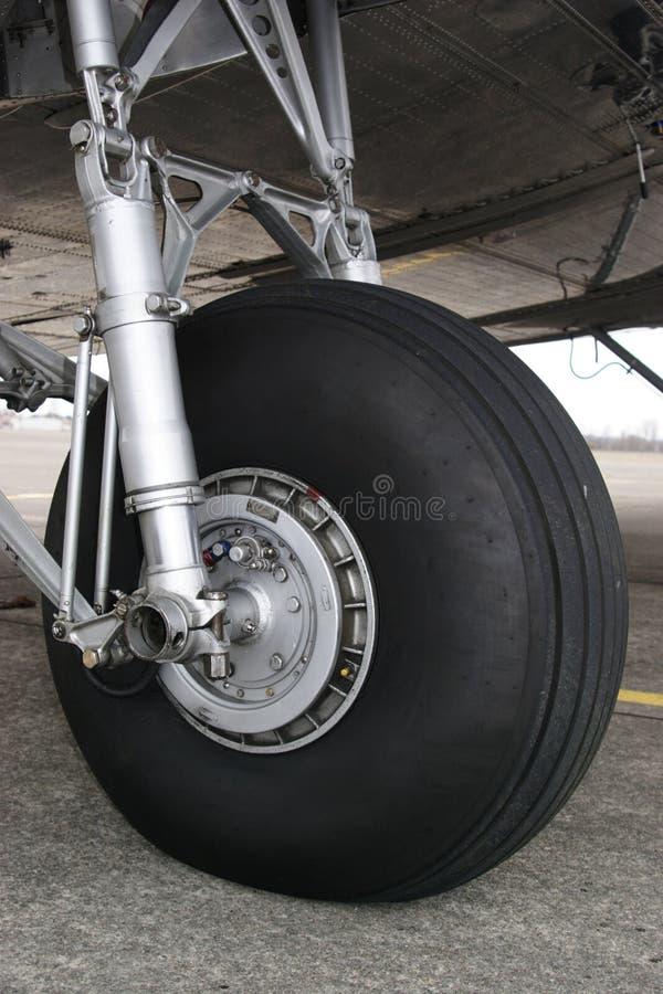DC3 Landingsgestel royalty-vrije stock afbeeldingen