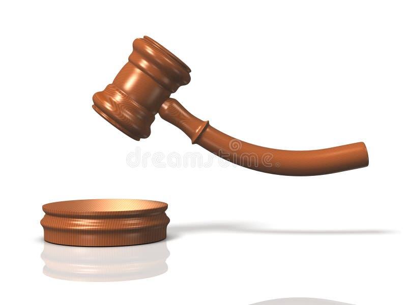 3DCG abstrato que representa a decisão ilustração do vetor