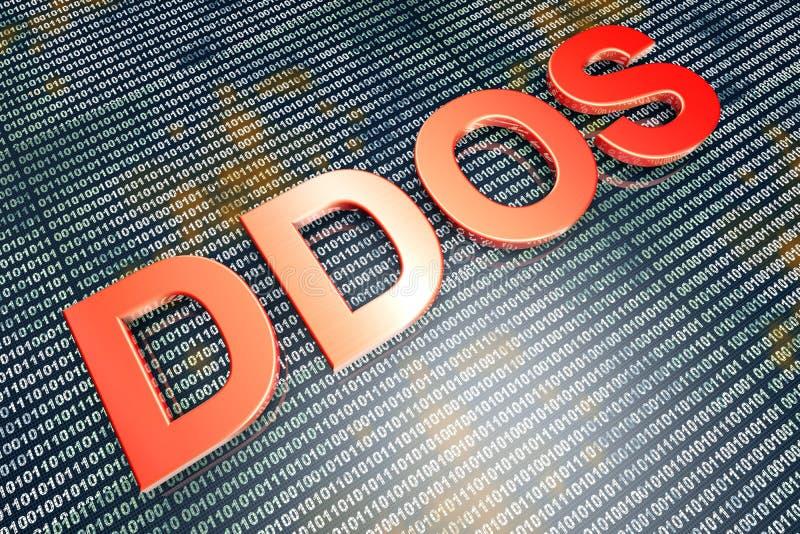 DDOS fotos de archivo libres de regalías