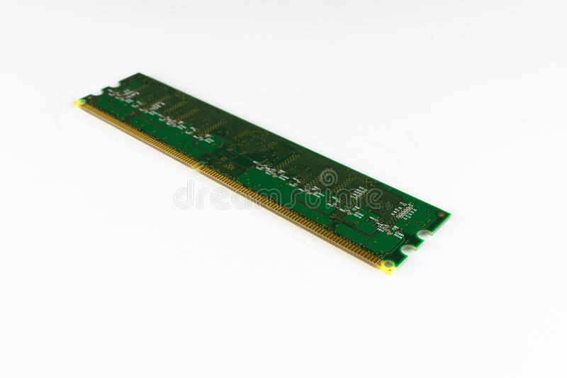 DDR2 memory pins stock photography