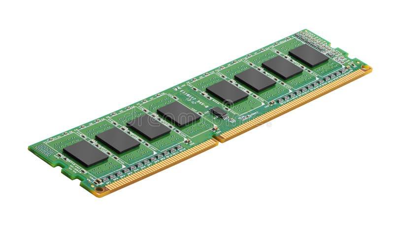 DDR RAM pamięci moduł zdjęcia stock
