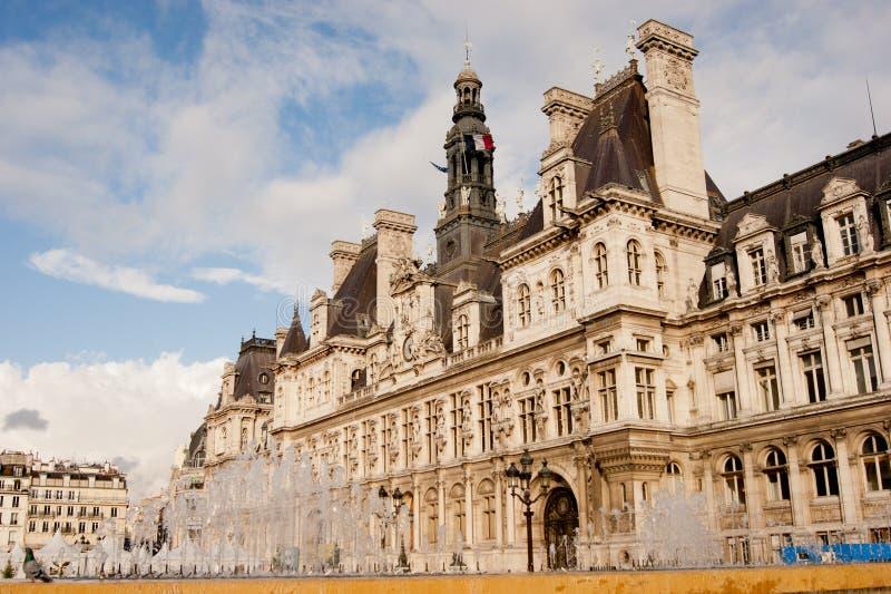 de巴黎ville 库存照片