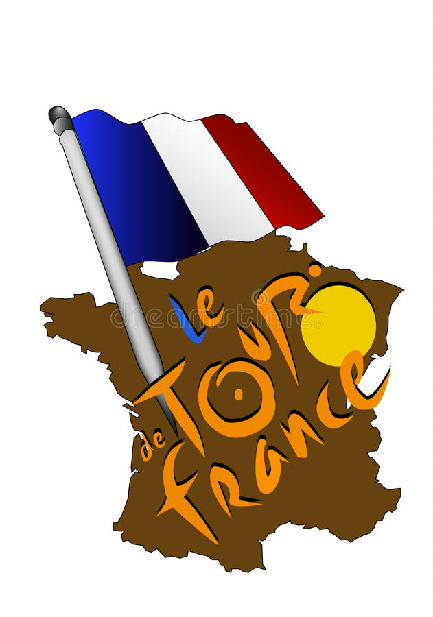 de法国浏览 向量例证