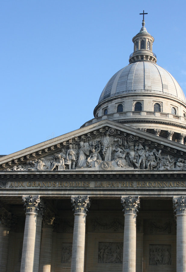de法国panth巴黎 免版税库存照片