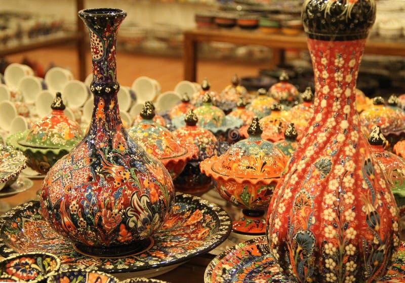 ¡ De Ð eramic d'Avanos Turquie images stock