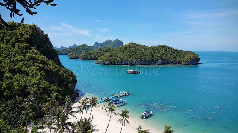 De 42 öarna, kohsamui royaltyfri fotografi