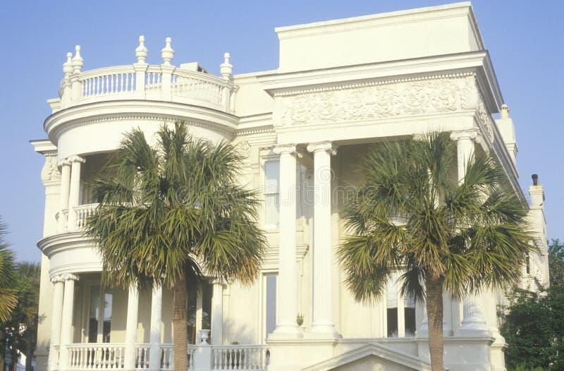 de 18de eeuwrijtjeshuis stock afbeelding