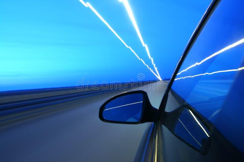 De aandrijving van de snelheid stock afbeeldingen