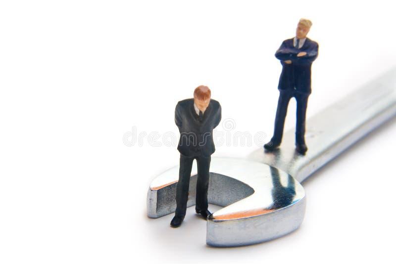 De aanpassing van de werknemer stock foto