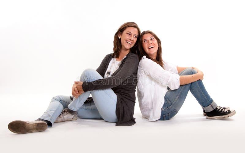 De aansluting van de moeder en van de dochter royalty-vrije stock foto's