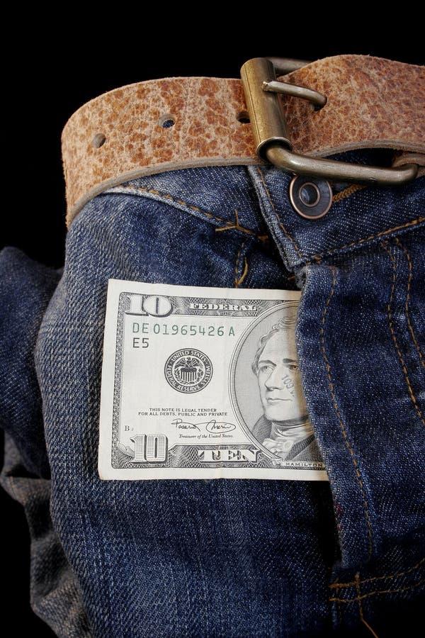 De Aansporing van de dollar stock fotografie