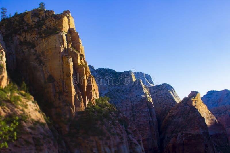 De Aansporing van het oosten van Dame Mountain stock afbeelding