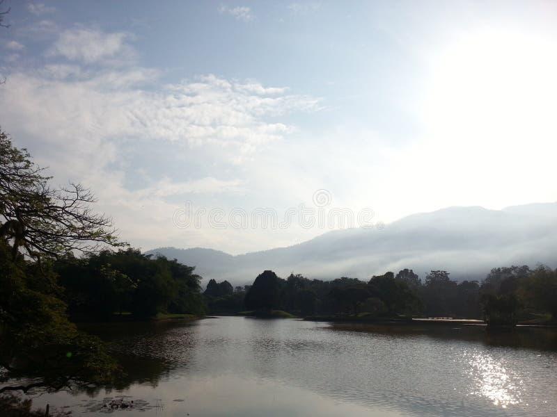 De Aantrekkelijkheden van de de Rivieroeverhemel van het zonpark royalty-vrije stock afbeelding