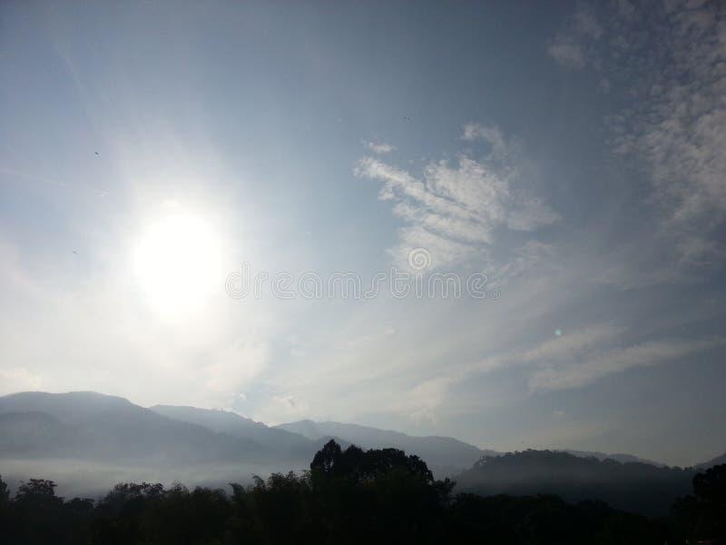 De Aantrekkelijkheden van de de Rivieroeverhemel van het zonpark royalty-vrije stock foto