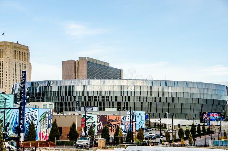 De Aantrekkelijkheid van Kansas Ctiy, de Lente Convention Center royalty-vrije stock foto's