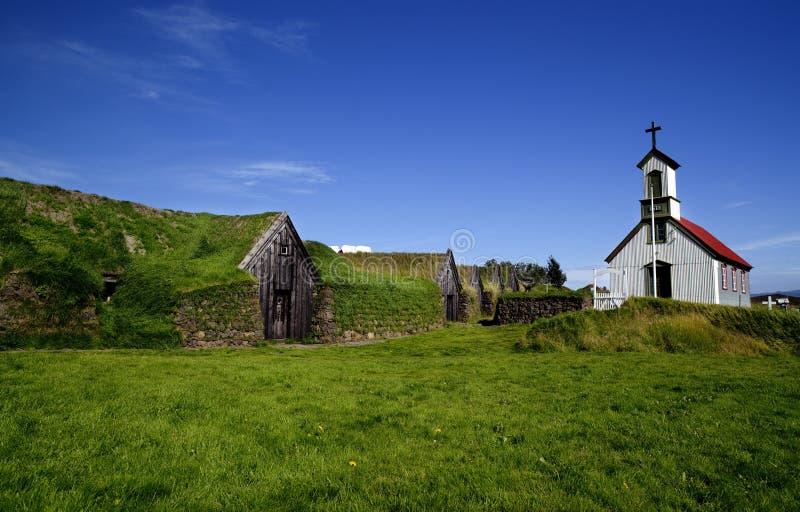 De aard en de landschappen van IJsland royalty-vrije stock afbeeldingen