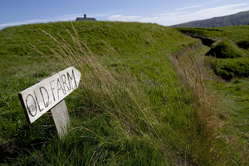 De aard en de landschappen van IJsland stock fotografie