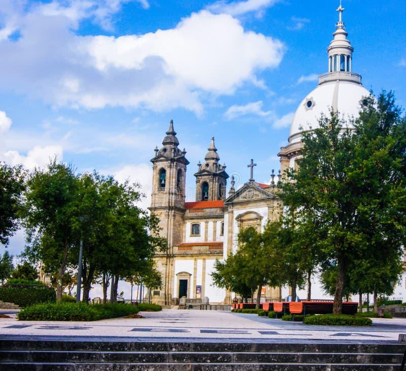 De aard van Iglesiaportugal stock foto's