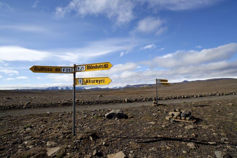 De aard van IJsland en landschappen het reizen royalty-vrije stock fotografie