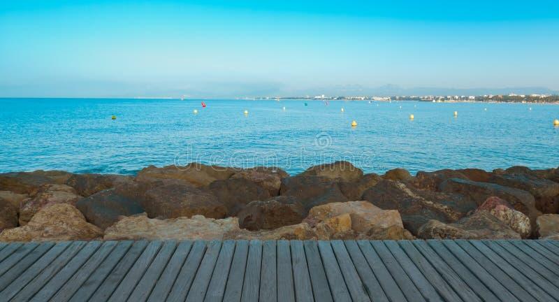 De aardachtergrond van de Middellandse Zee royalty-vrije stock foto