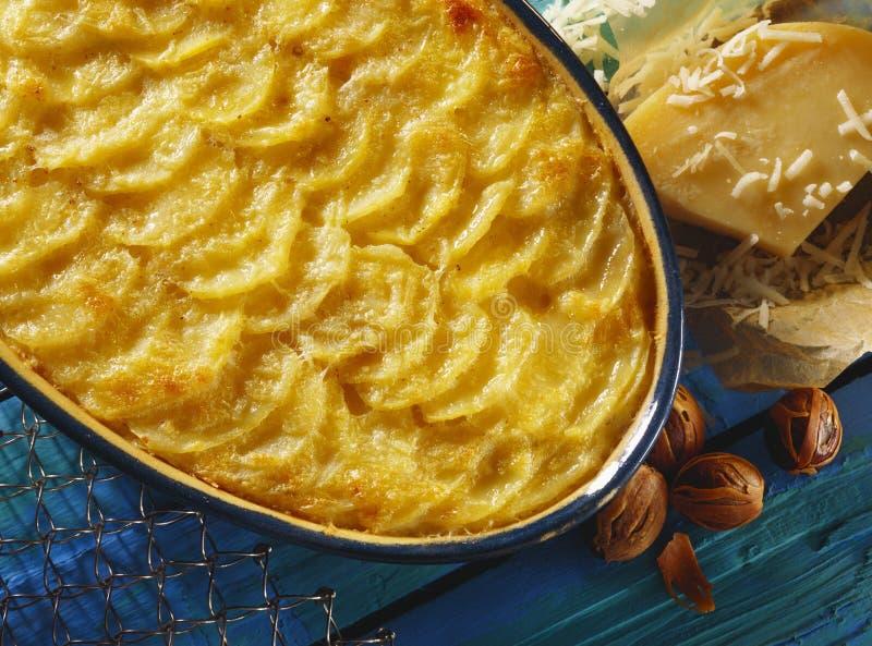 De aardappel bakt stock afbeeldingen