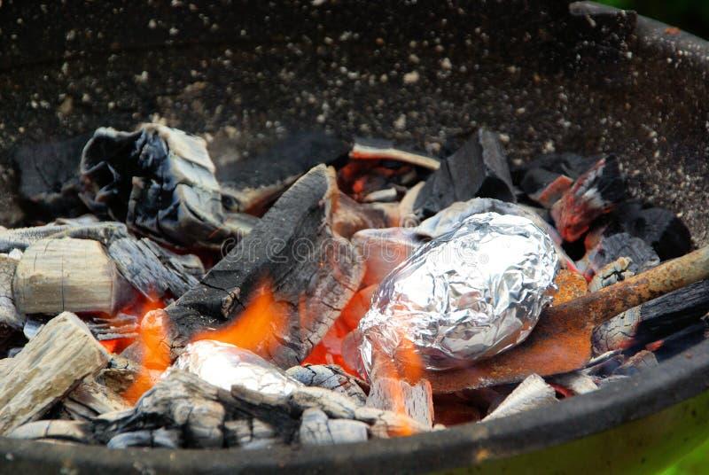 De aardappel van de barbecue royalty-vrije stock foto's