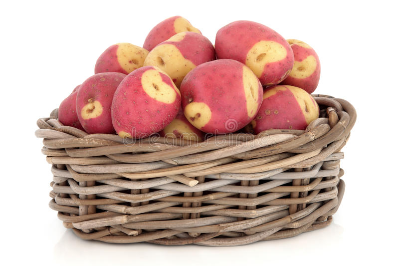 De Aardappels van Apache stock afbeelding