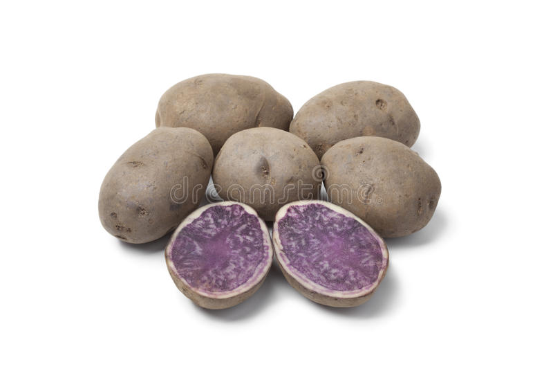De aardappels van de truffel stock afbeelding